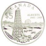 Alberta's Centennial Coin